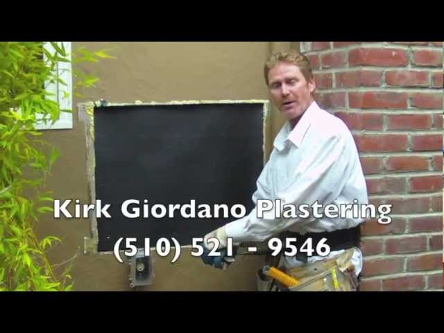How to quickly repair an exterior hole in a stucco wall