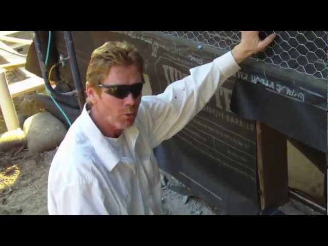 Get step-by-step info on installing stucco weep or drip screeds