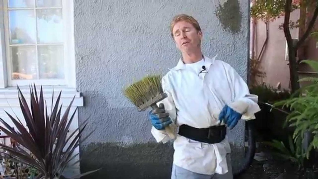 How to Dash stucco walls