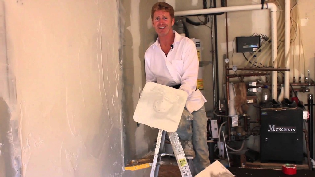 Plaster over interior concrete and or drywall,  drywall compound uses