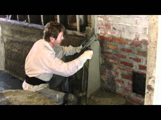 Fix concrete spalling with plaster or stucco