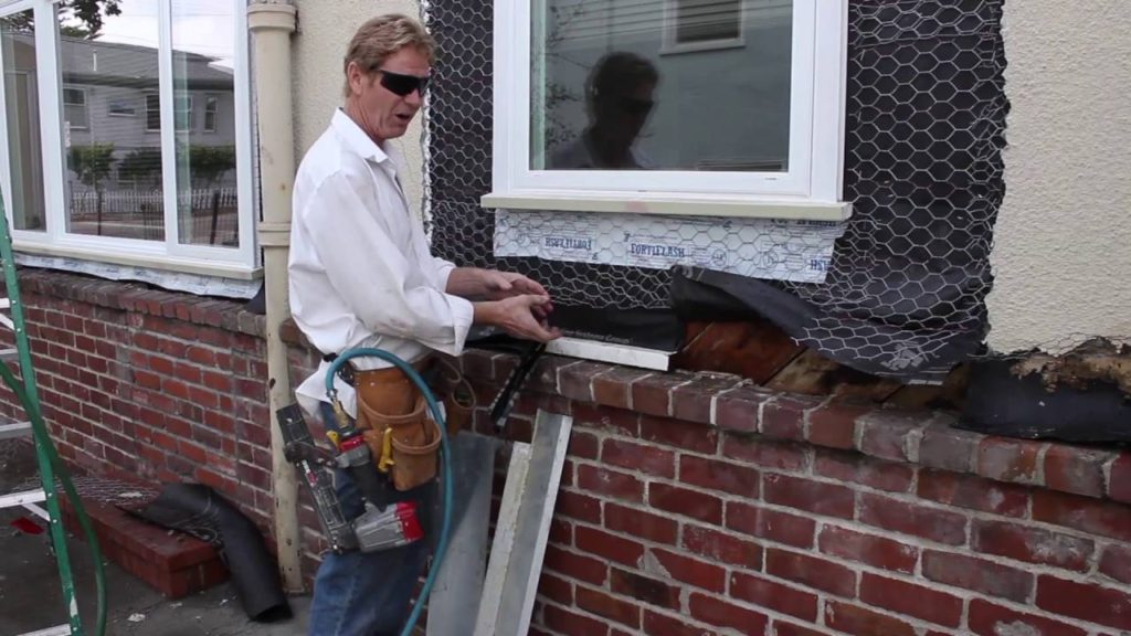 what is a water table for stucco or wood clad houses